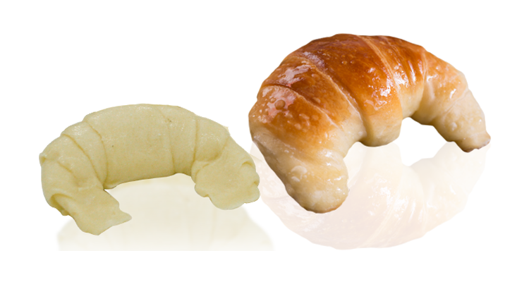 Butter sweet croissant pre-fermented 35g (1.69 oz.)